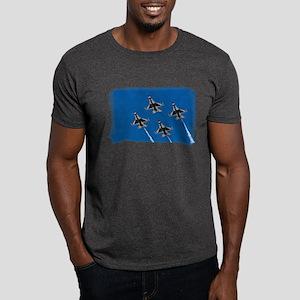 Thunderbirds 4 Bird Side Dark T-Shirt