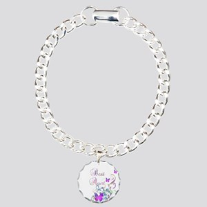 Best Aunt Charm Bracelet, One Charm