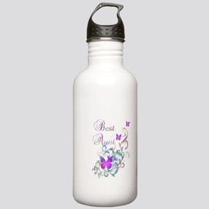 Best Aunt Stainless Water Bottle 1.0L
