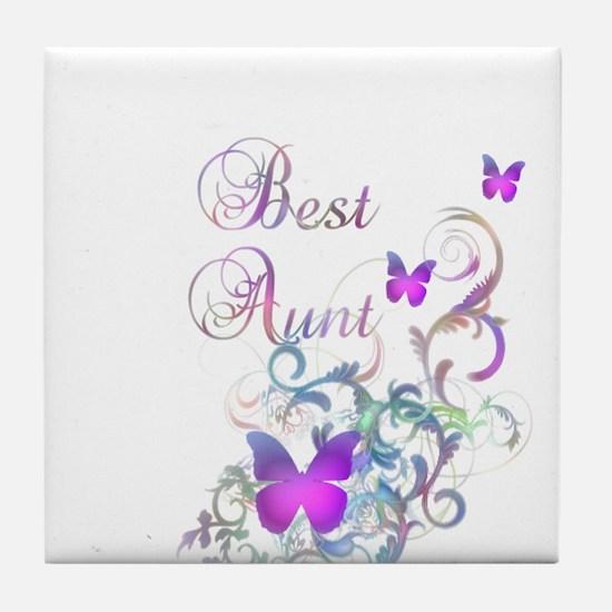 Best Aunt Tile Coaster