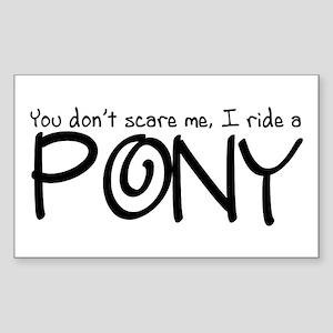 Pony Sticker (Rectangle)