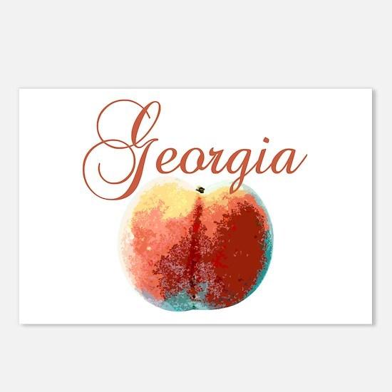 Georgia Peach Postcards (Package of 8)