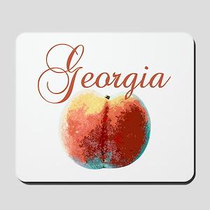 Georgia Peach Mousepad