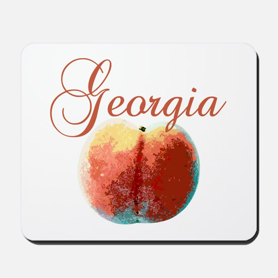 Georgia Peach Mousepad