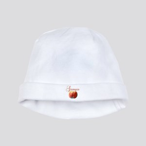 Georgia Peach baby hat
