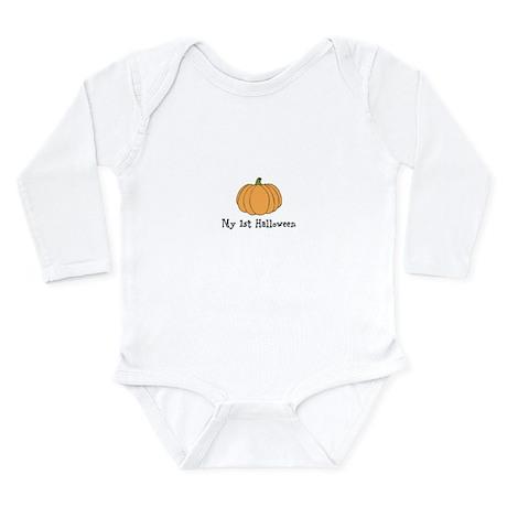 My 1st Halloween Long Sleeve Infant Bodysuit