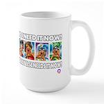 IT'S MY MONEY Large Mug