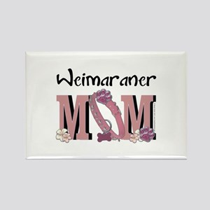 Weimeraner MOM Rectangle Magnet