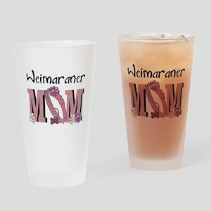 Weimeraner MOM Drinking Glass