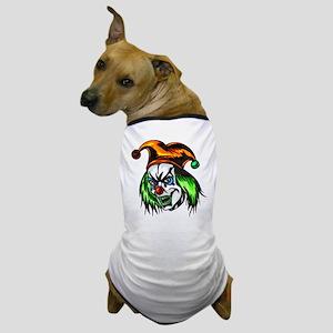 Mentally Insane Evil Clown Dog T-Shirt