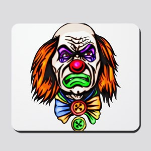 Evil Clown Face Mousepad