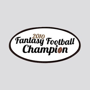 2010 Fantasy Football Champ Patches