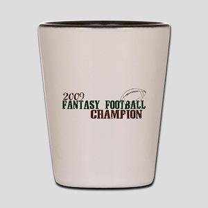 Fantasy Football Champ 2009 Shot Glass