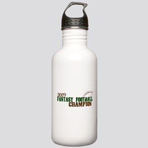 Fantasy Football Champ 2009 Stainless Water Bottle