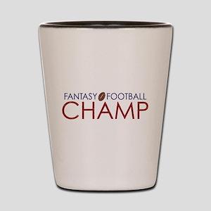 New Fantasy Football Champ Shot Glass