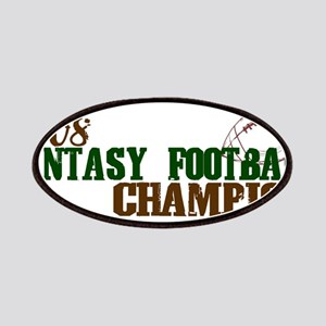 Fantasy Football Championship Patches