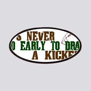 Fantasy Football Draft Kicker Patches