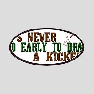 Fantasy Football Draft Kicker Patches