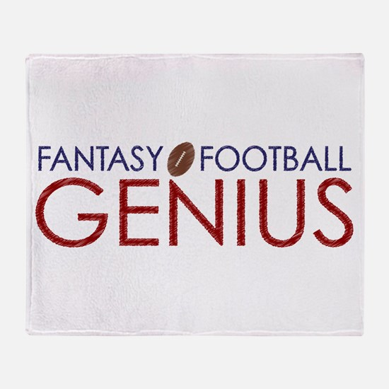 Fantasy Football Genius Throw Blanket