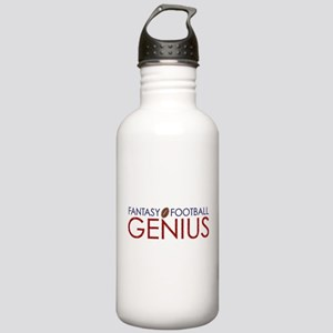 Fantasy Football Genius Stainless Water Bottle 1.0