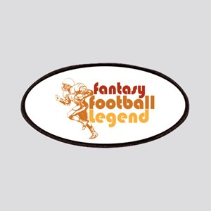 Retro Fantasy Football Legend Patches