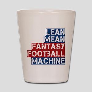 Fantasy Football Machine Shot Glass