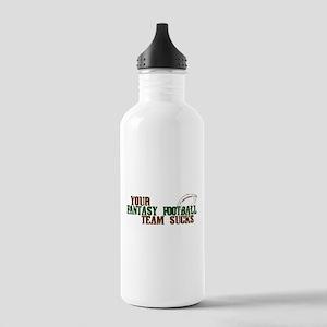 Fantasy Football Team Sucks Stainless Water Bottle