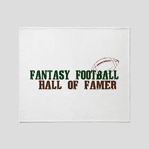 Fantasy Football HOF Throw Blanket