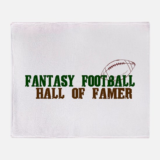 Fantasy Football HOF Throw Blanket