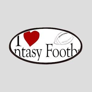 I Love Fantasy Football Patches