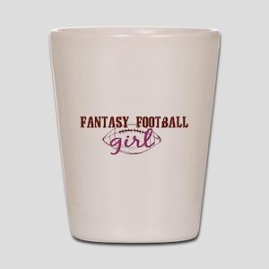 Fantasy Football Girl Shot Glass