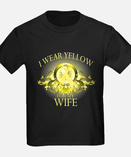 I Wear Yellow for my Wife (fl T
