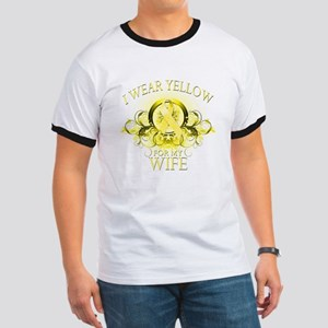 I Wear Yellow for my Wife (fl Ringer T