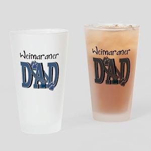 Weimeraner DAD Drinking Glass