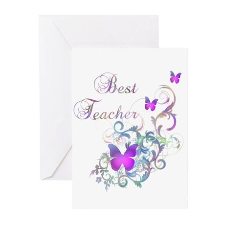 Best Teacher Greeting Cards (Pk of 20)