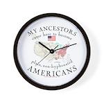 Just plain American Wall Clock