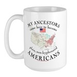 Just plain American Large Mug