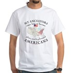 Just plain American White T-Shirt