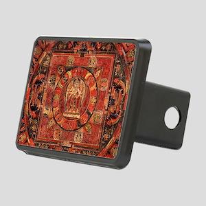Compassion Mandala of Amog Rectangular Hitch Cover