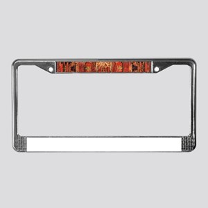 Compassion Mandala of Amoghapa License Plate Frame