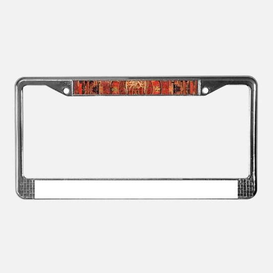 Compassion Mandala of Amoghapa License Plate Frame
