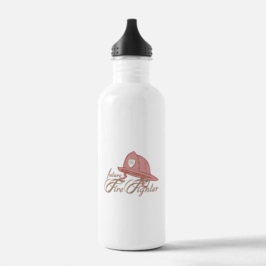 Future Fire Figher Water Bottle