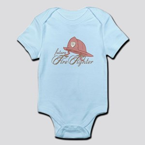 Future Fire Figher Infant Bodysuit