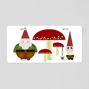 Gnomeses Aluminum License Plate