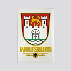 Wolfsburg Rectangle Magnet