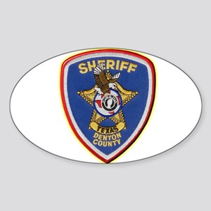 Denton County Sheriff Sticker (Oval)