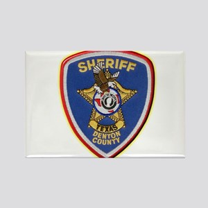 Denton County Sheriff Rectangle Magnet