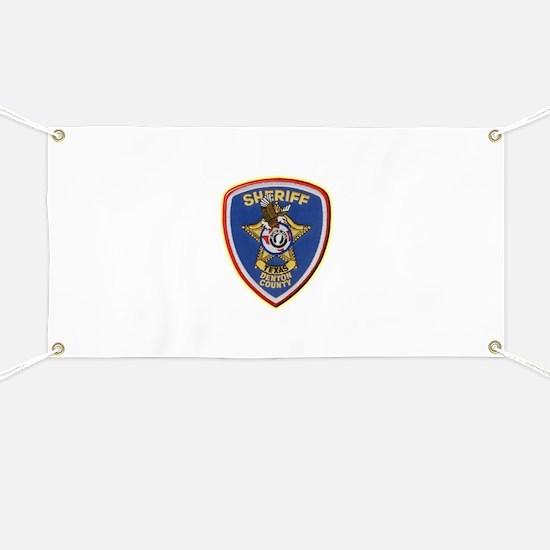 Denton County Sheriff Banner