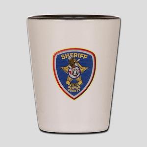 Denton County Sheriff Shot Glass