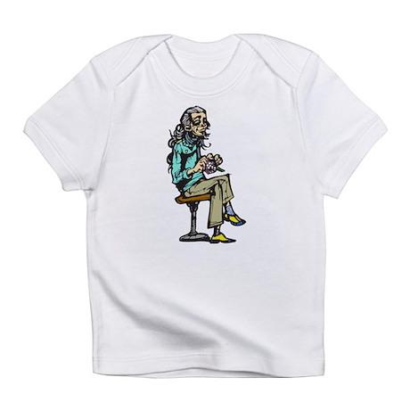 Active Aging Woman Infant T-Shirt